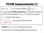 povm measurements 1