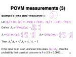 povm measurements 3