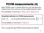 povm measurements 4