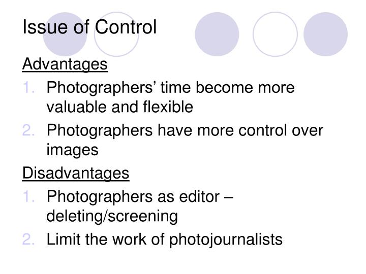Issue of Control