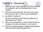tutorial 9 questions