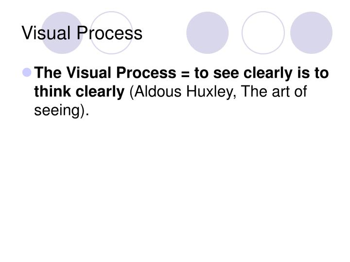 Visual Process