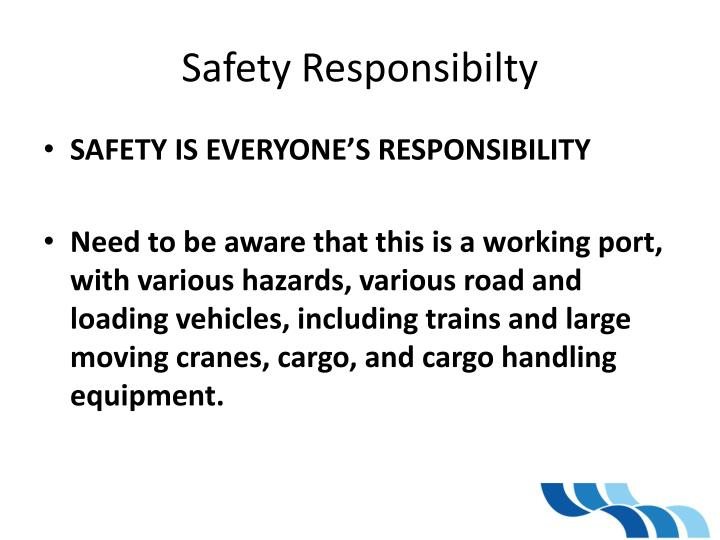 Safety Responsibilty