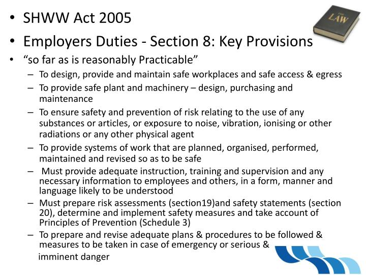 SHWW Act 2005
