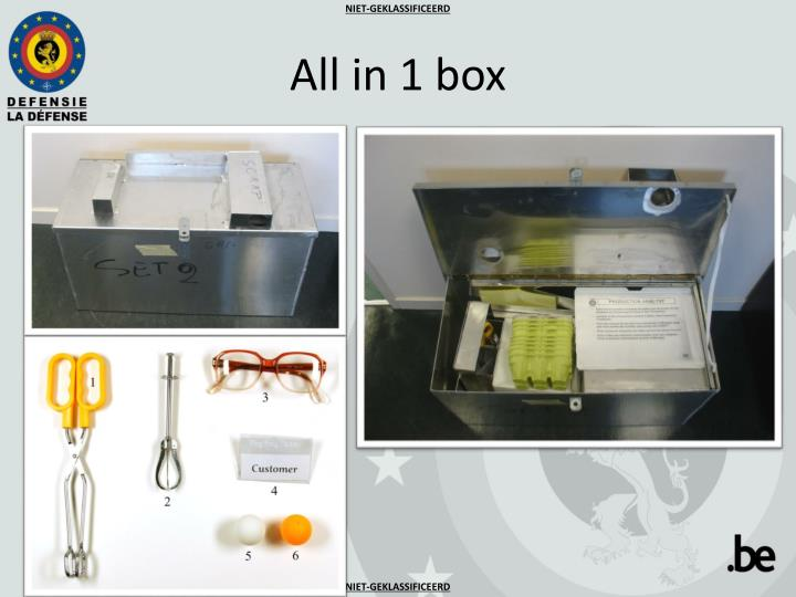All in 1 box