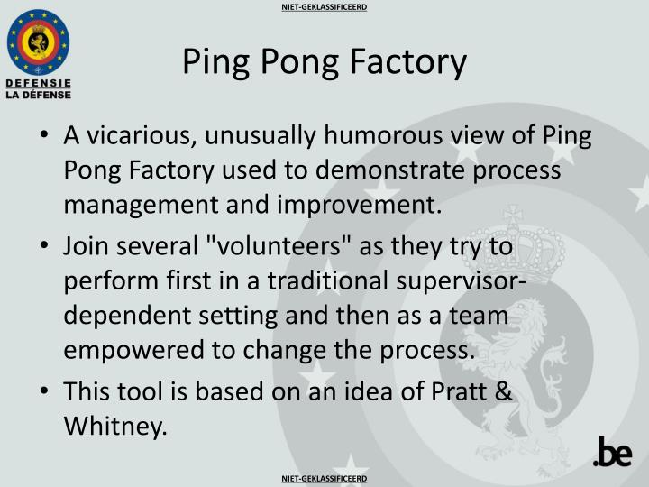 Ping pong factory1