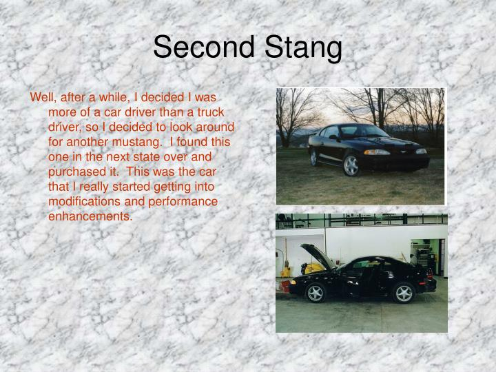 Second Stang
