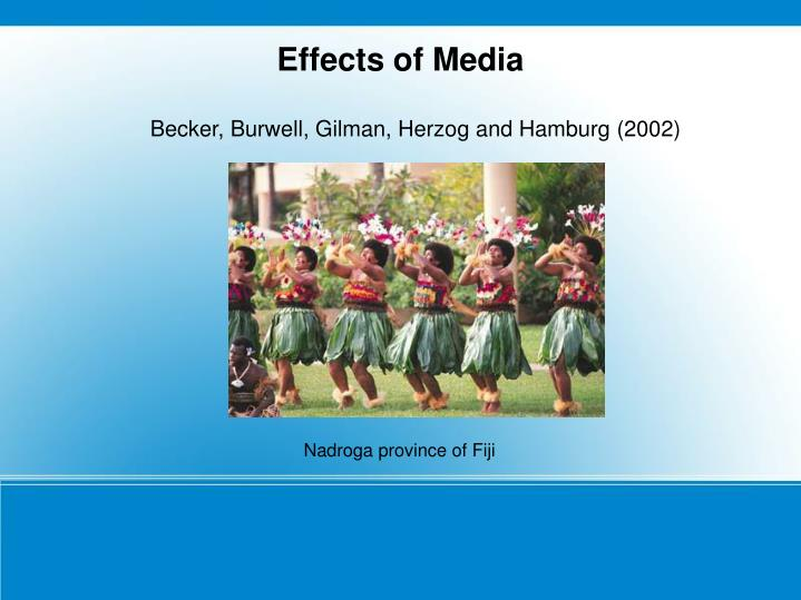 Effects of Media