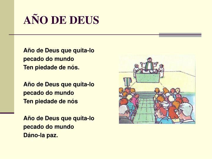 AÑO DE DEUS