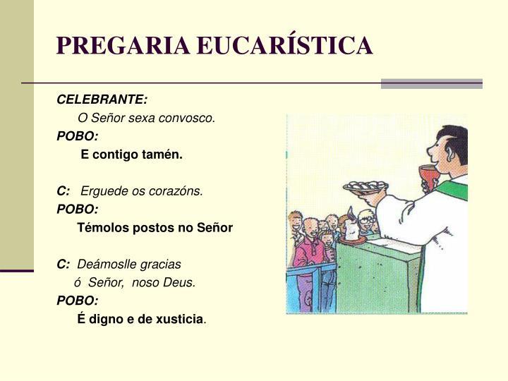 PREGARIA EUCARÍSTICA