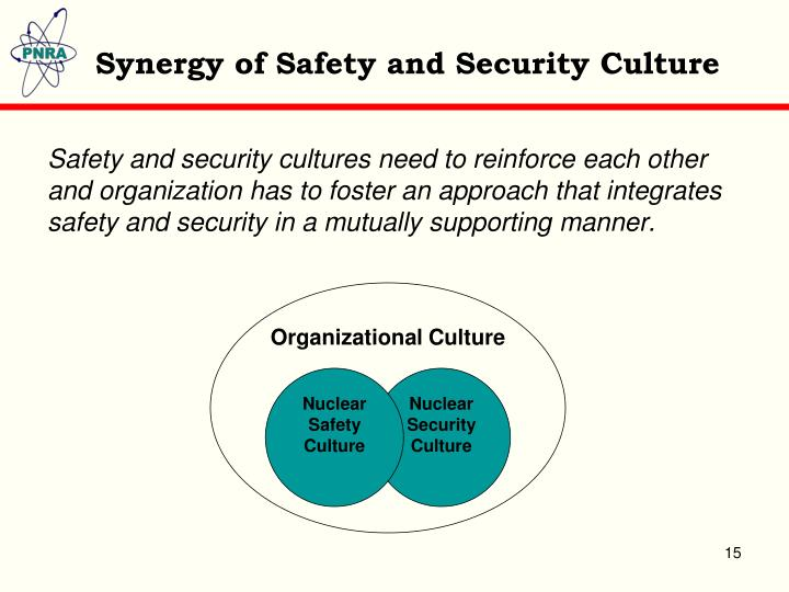 Synergy of Safety and Security Culture