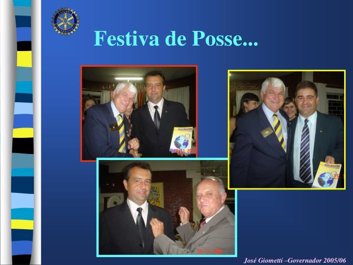 Festiva de Posse...