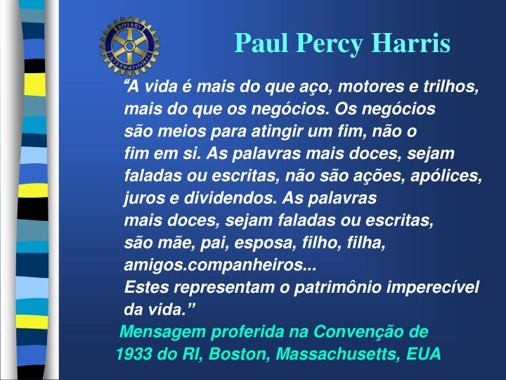 Paul Percy Harris