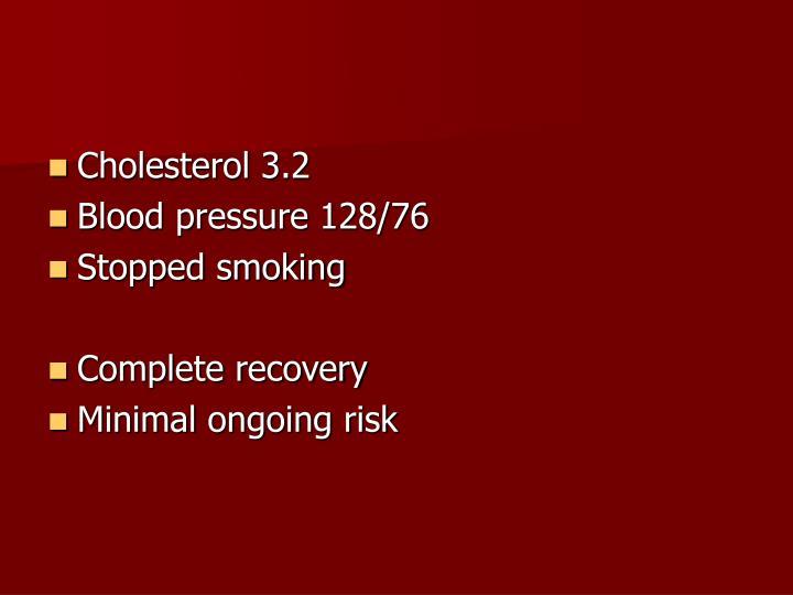 Cholesterol 3.2
