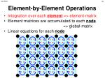 element by element operations2