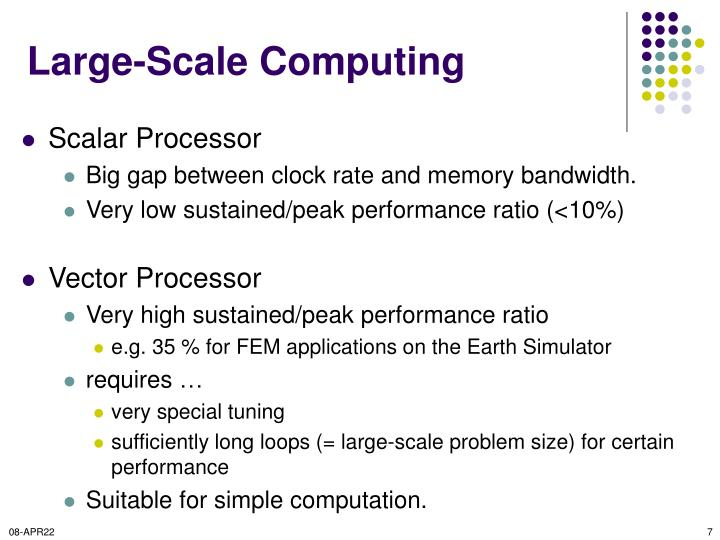 Large-Scale Computing