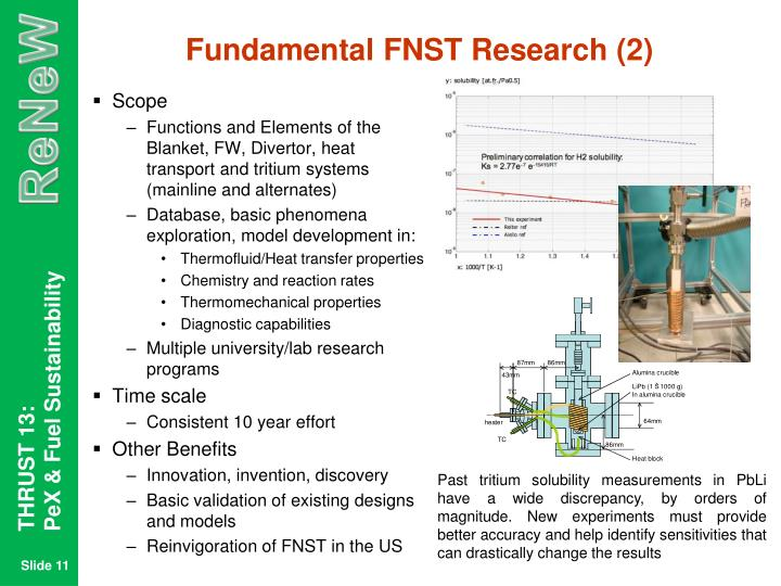 Fundamental FNST Research (2)