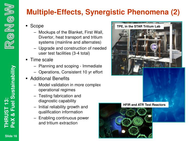 Multiple-Effects, Synergistic Phenomena (2)