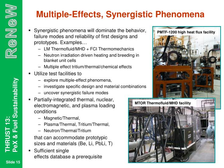 Multiple-Effects, Synergistic Phenomena
