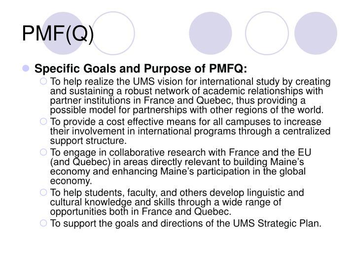PMF(Q)