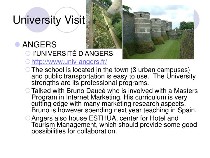 University Visit