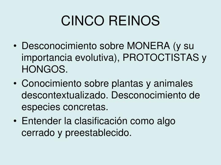 CINCO REINOS