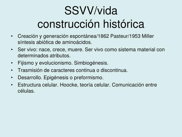 SSVV/vida
