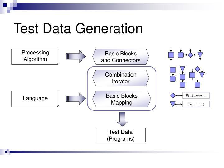 Test Data Generation
