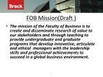 fob mission draft