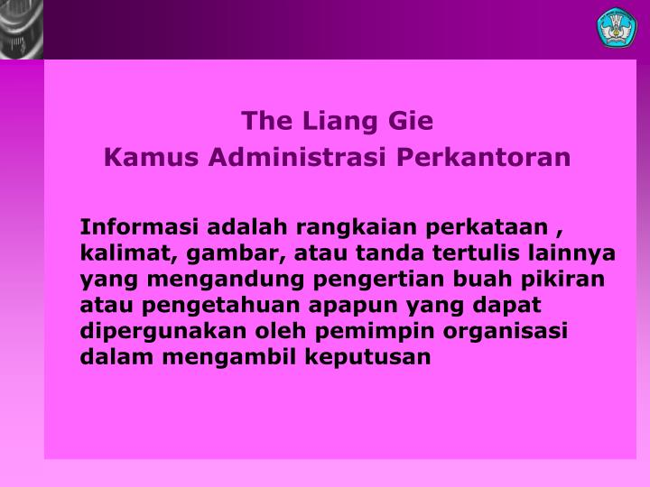 The Liang Gie
