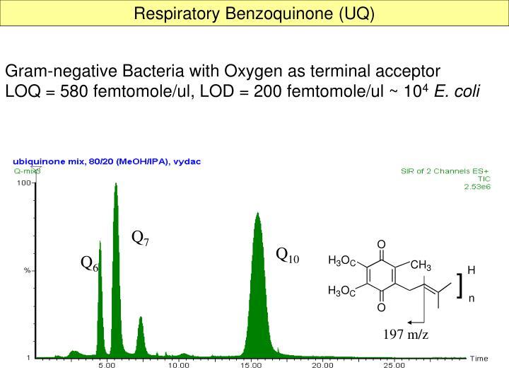 Respiratory Benzoquinone (UQ)