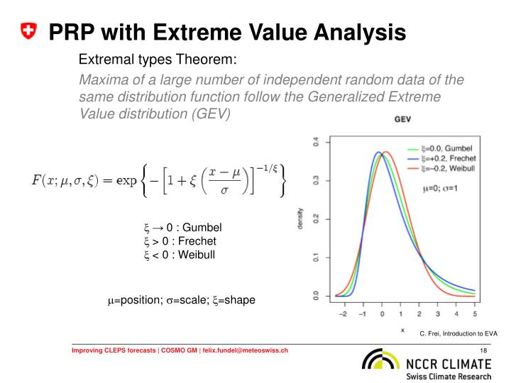 PRP with Extreme Value Analysis