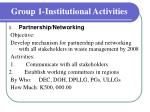 group 1 institutional activities5