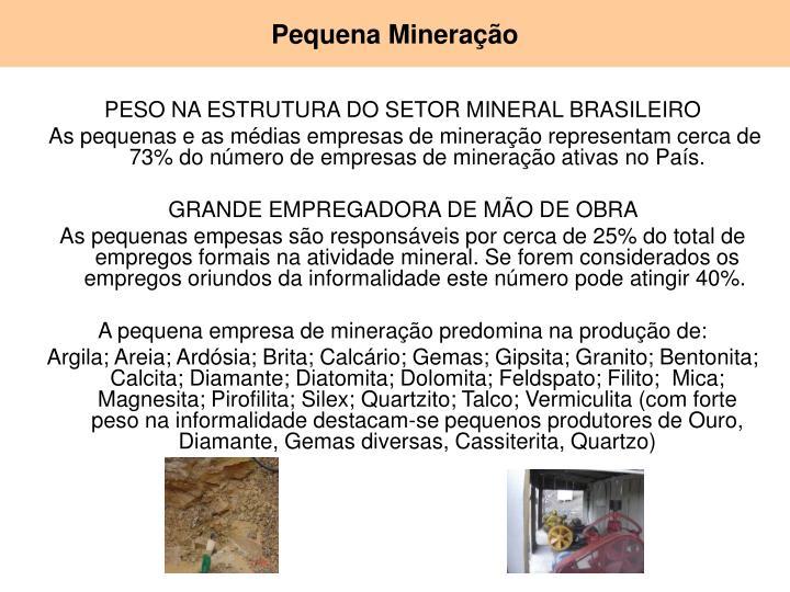 Pequena Mineração
