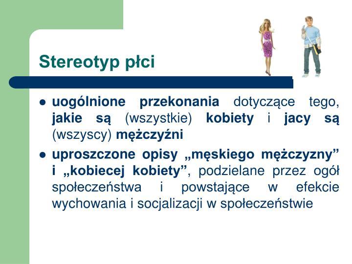 Stereotyp płci