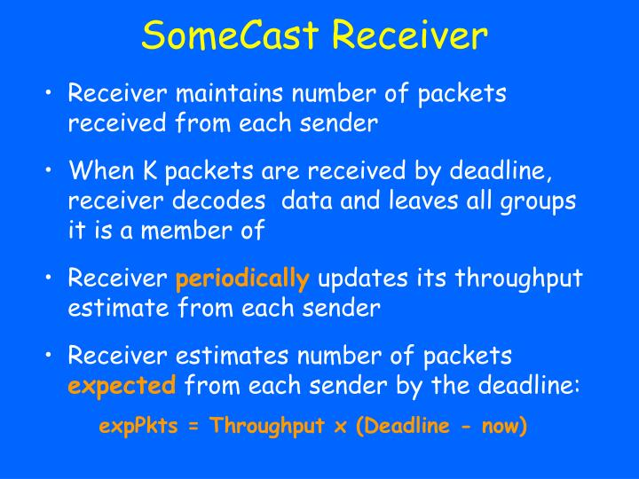 SomeCast Receiver