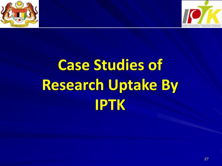 Case Studies of