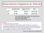 biomarcadores e diagn stico de infec o