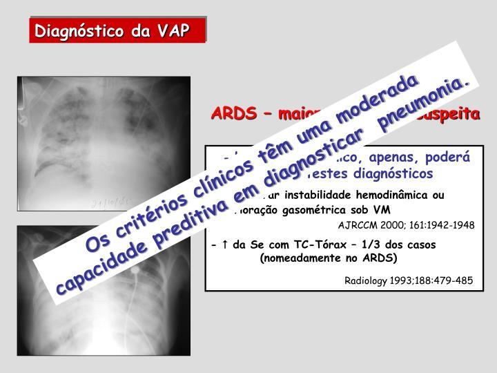 Diagnóstico da VAP