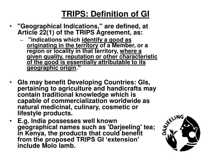 Trips definition of gi