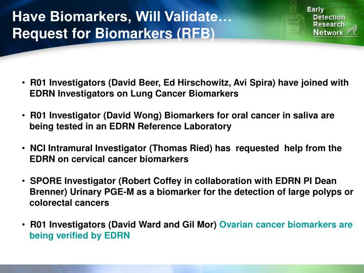 Have Biomarkers, Will Validate…