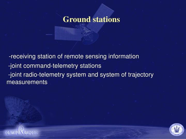 Ground stations