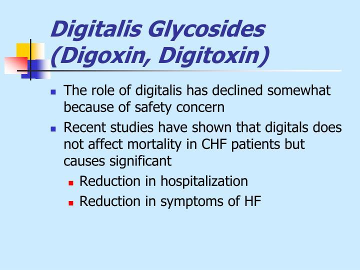 Digitalis Glycosides