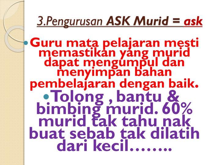 3.Pengurusan