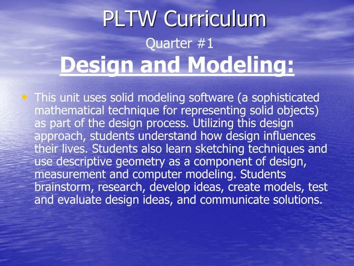 PLTW Curriculum