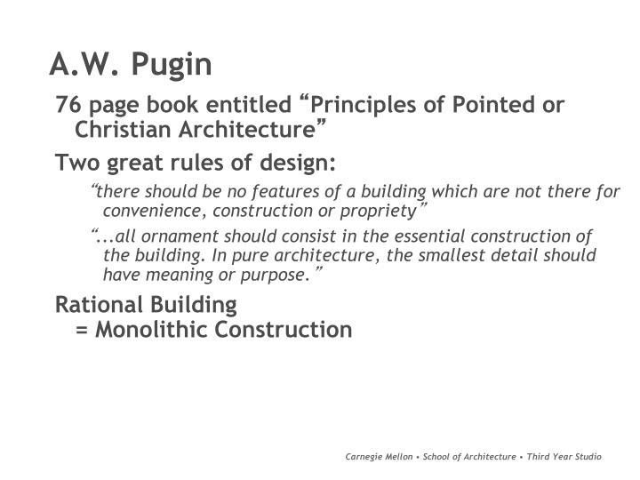 A.W. Pugin