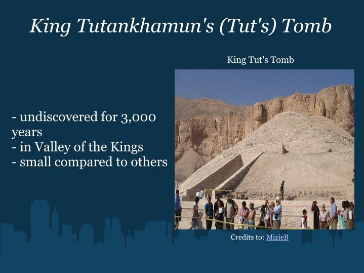 King Tutankhamun's (Tut's) Tomb