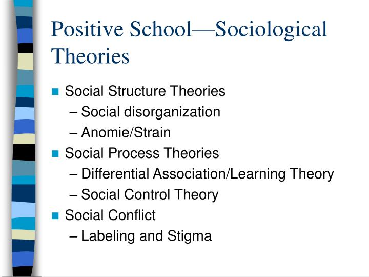 positivism a key concept in sociology Neo-gramscianism theory as an anti-positivism approach to political reality   provides the basic meaning and characteristics of positivism as an  fields of  study, for example, political theory, sociology, anthropology and.