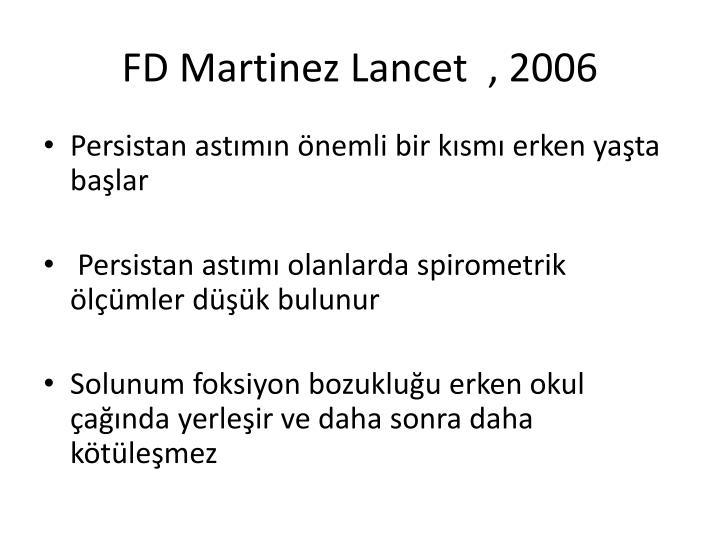 FD Martinez Lancet  , 2006