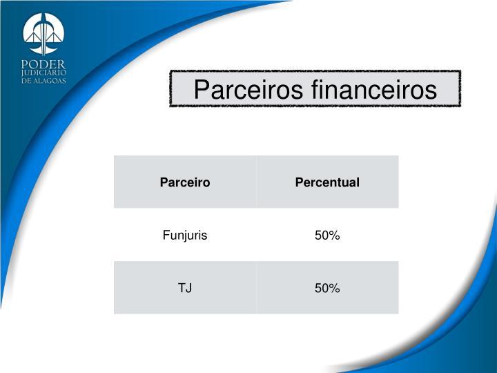 Parceiros financeiros